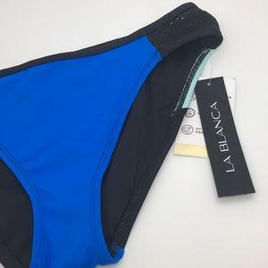 La Blanca Swim - La Blanca Swim Technicolor Bikini Bottoms 8 10 D